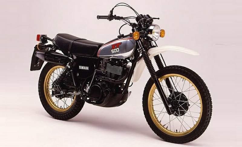 Yamaha XT500 79 1